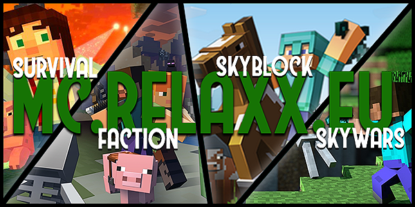 Relaxx Minecraft Skyblock - Survival  Tes2